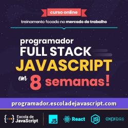Curso Torne-se um Programador Fullstack Javascript em 8 Semanas